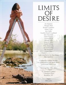 Small Black Limits of Desire Exhibition